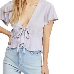 Free People Knot Me Top